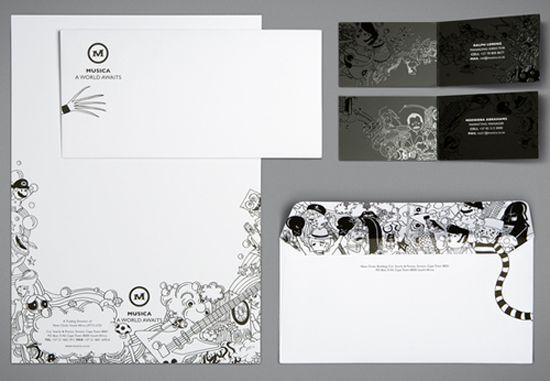 83 Crazy/Beautiful Letterhead and Logo Designs - You The Designer