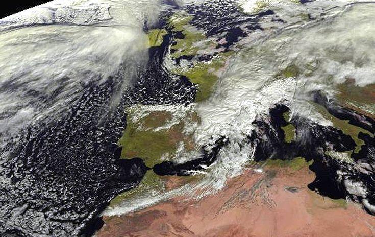 La AEMET alerta de fuertes rachas de ciento en el este y sur peninsular
