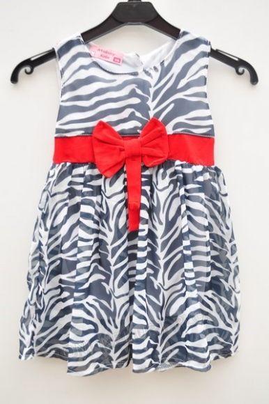 Sukienka dziewczęca ONL0133  _D7 (92-110)