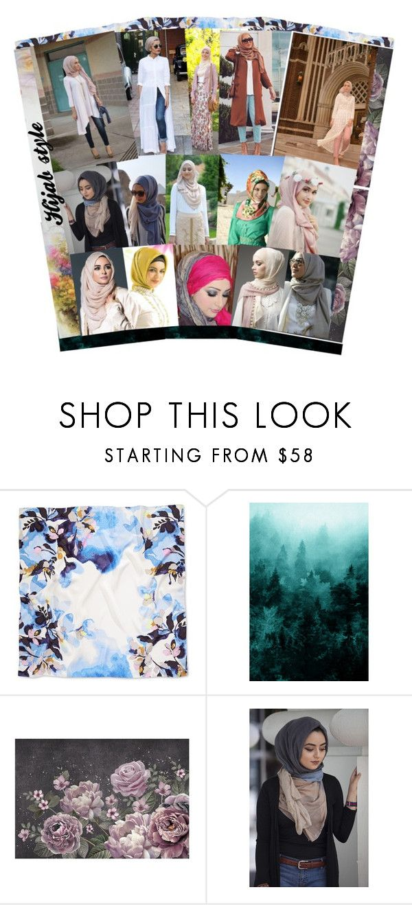 """""""Stylish hijab!!!"""" by mmsbeg ❤ liked on Polyvore featuring Vince Camuto and WALL"""