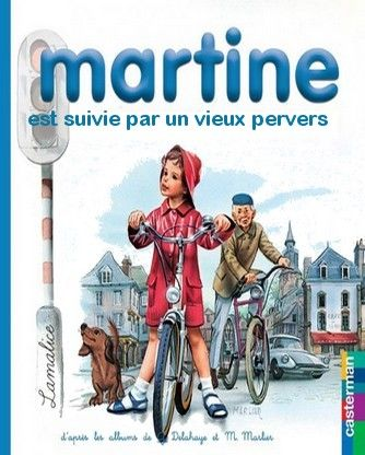 Martine est suivie par un vieux pervers