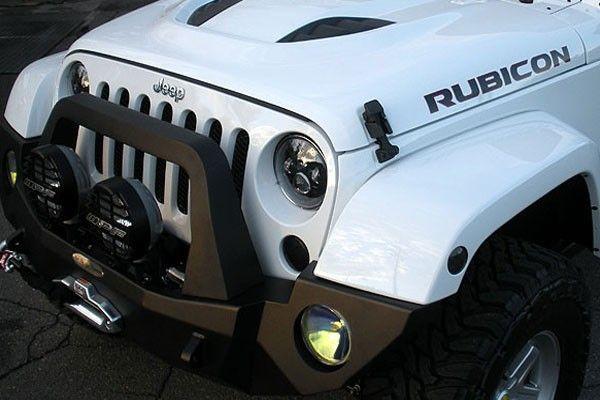 "Brand New 2014 Jeep Rubicon Unlimited in White AEV 3.5"" DualSport SC Lift…"