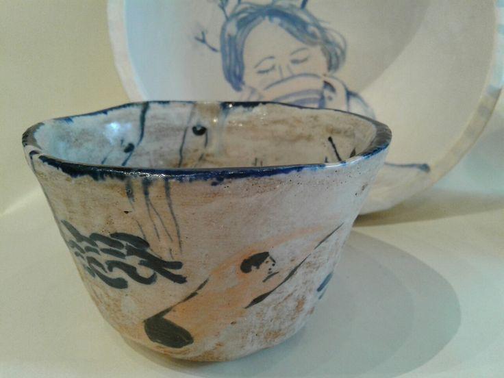 Tea, handmade stoneware by lourdes ral