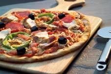 Sunn pizzabunn. Nå er det enkelt å lage sunn pizza! Med FiberFin får denne pizzabunnen 7,4% fiber.