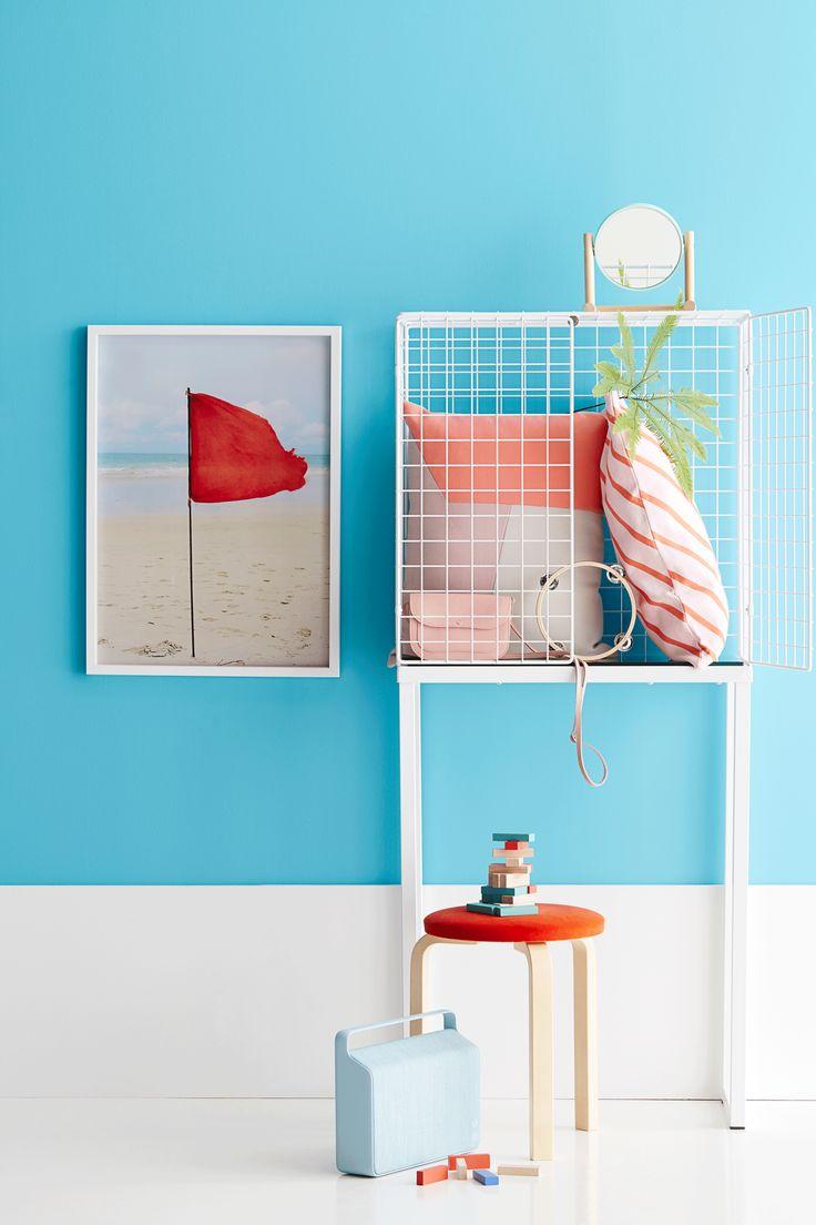 blue and orange, styling Anna-Kaisa Melvas, photo Anna Huovinen / Glorian Koti