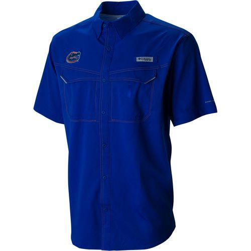 Columbia Sportswear Men's University of Florida Low Drag Offshore Shirt (Blue, Size Large) - NCAA Licensed Product, NCAA Men's Jersey/Polos at Acad...