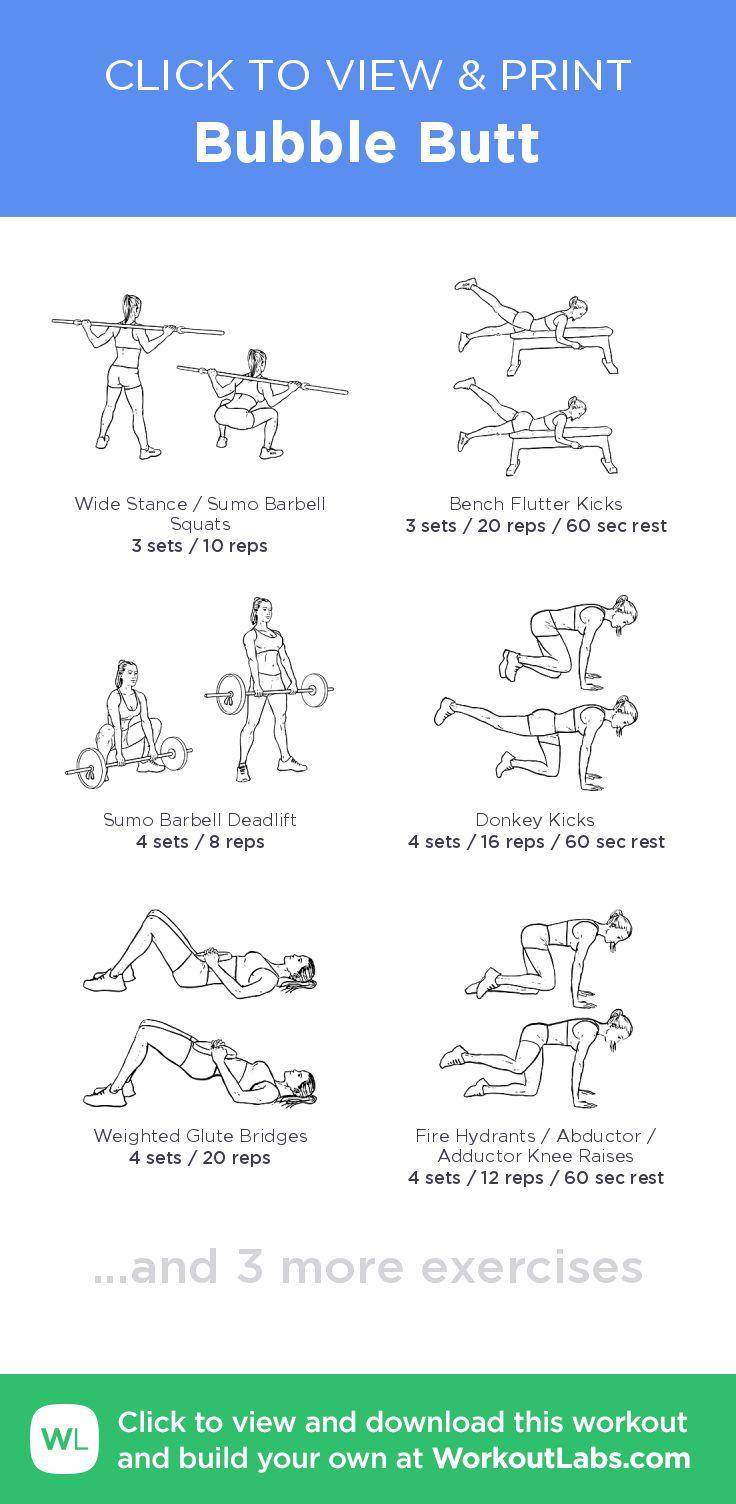 Best 25 Bubble Butt Workout Ideas On Pinterest  Squats -5643
