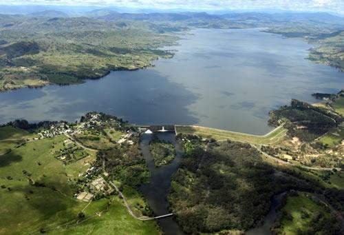 Lake Hume tourist park, Victoria (Australia)