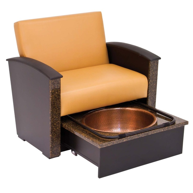 17 best images about nail salon furniture by nded on for Nail salon benches