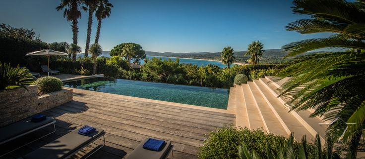 Saint Tropez  www.ikh.villas  RELAXED LIVING WITH STUNNING OCEAN VIEWS YET SO CLOSE TO EVERYTHING SAINT-TROPEZ HAS TO OFFER.