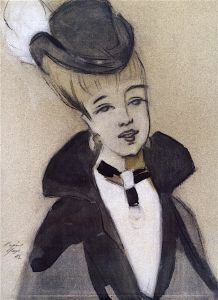 Lady with Black Hat - Helene Schjerfbeck - The Athenaeum