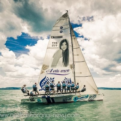 Sailing competition on Lake Balaton (2012)  #sailing, #lake, #badacsony, #balaton