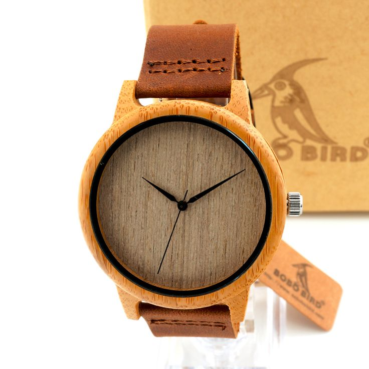 2016 Men's Bamboo Wooden Wristwatches With Genuine Cowhide Leather Band Luxury Wood Watches for Men as Gifts Item Love it?  #shop #beauty #Woman's fashion #Products #Watch
