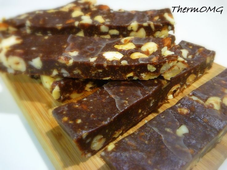 Chocolate Nutty Bar (sugarfree) - ThermOMG