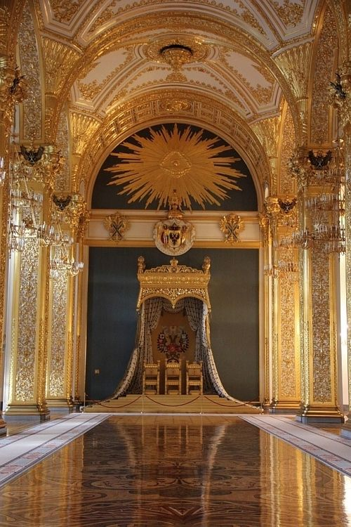 The Day Court (The Andreyevsky or Throne Room in the Grand Kremlin Palace)