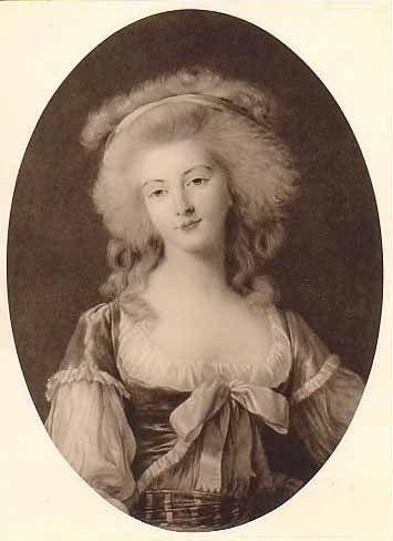 Diane Adélaïde de Damas d'Antigny, Comtesse de Simiane by Élisabeth Louise Vigée-Lebrun, 1783 | Grand Ladies | gogm