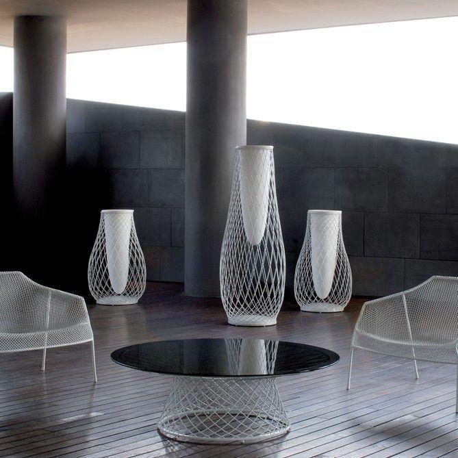 Contemporary vase / metal / plastic / by Jean-Marie Massaud EMU HEAVEN  Coalesse