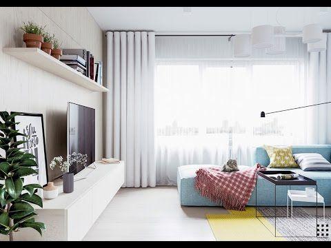 Scandinavian Interior Design Ideas For  A Small Apartments