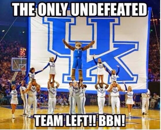 The Undefeated Kentucky Wildcats: 69 Best #BBN UK Wildcats Images On Pinterest