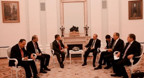 25 January 2017 His Majesty King Abdullah II holds talks with President of Russia Vladimir Putin at the Kremlin