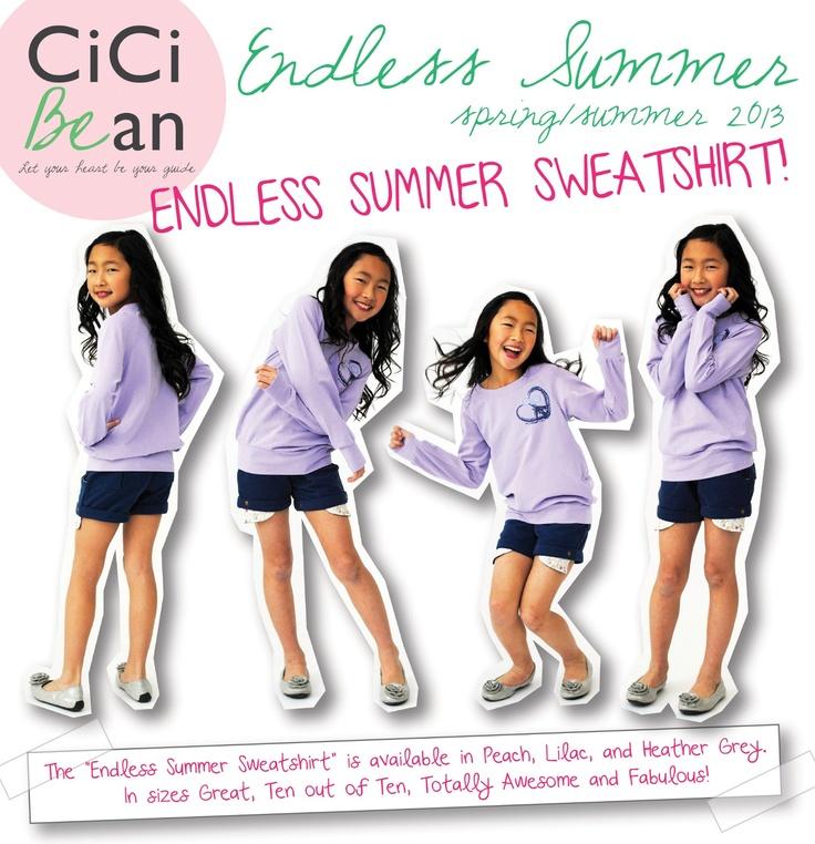 Cici Bean: Style Guide - Endless Summer Sweatshirt | www.letyourheartbeyourguide.blogspot.ca