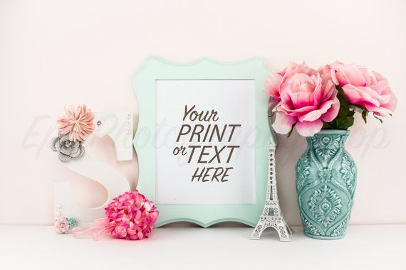 Print Background / Blank Frame / Styled Stock Photography / Product Photography / Staged Photography / Product Background / GR001