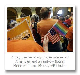 Minnesota Senate OKs gay marriage; Gov. Mark Dayton to sign marriage equality law on Tuesday