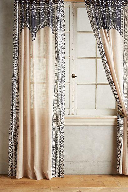 Cordelia Curtain #anthropologie (guest room)