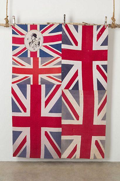 Flag Blanket, Brocade #anthropologie