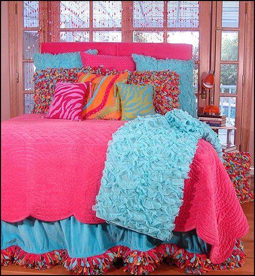 Color Bedrooms Idea Teens Girls Bedspreads Kids Beds Sets Girls
