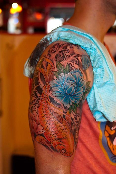 22 best koi tattoo ideas images on pinterest koi carp tattoo ideas and fish. Black Bedroom Furniture Sets. Home Design Ideas