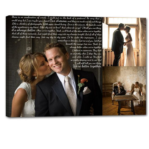 Storyboard Wedding Photo Collage