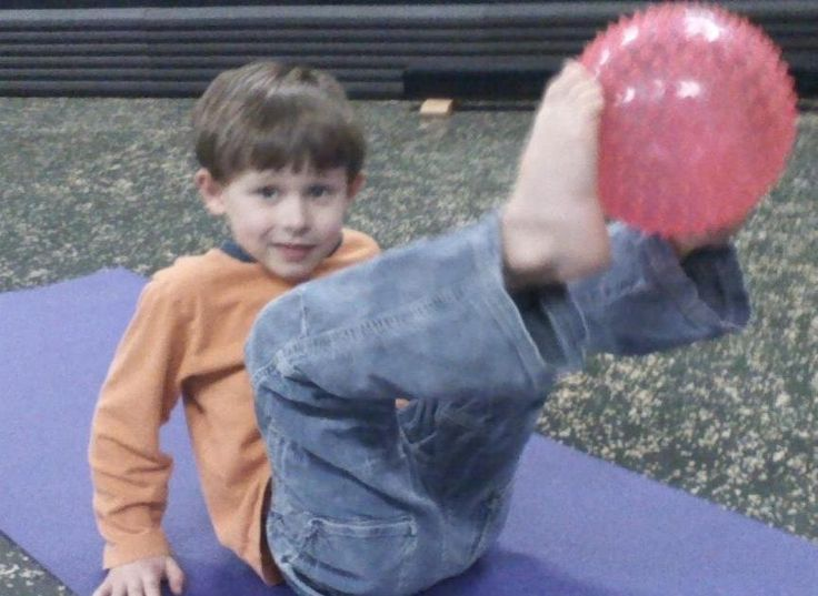 """""""Funny Football"""" is a fun game that helps kids build core strength We hear many references in the fitness industry tobuilding """"core"""" streng..."""