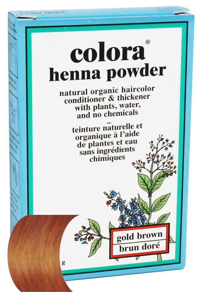 Colora - Henna Powder Natural Organic Hair Color Gold Brown - 2 oz. *** Read more info by clicking the link on the image. #hairrepair