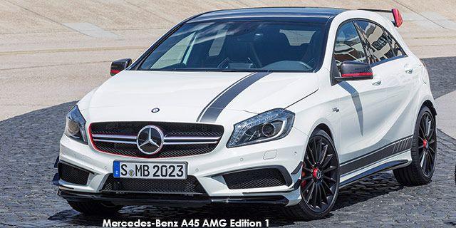 Mercedes-Benz A-Class A45 AMG Edition 1 (2013-03-01)
