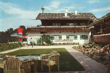 A beautiful Summer afternoon at Hitler's personal mountain retreat, the Berghof, located in the small village of Berchtesgaden on the countryside of Bavaria.