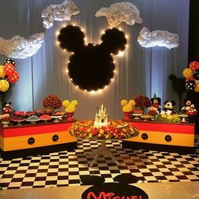 Superb Tema Mickey loucaporfesta loucaporfestas loucasporfestas mickeyparty festamickey Decor