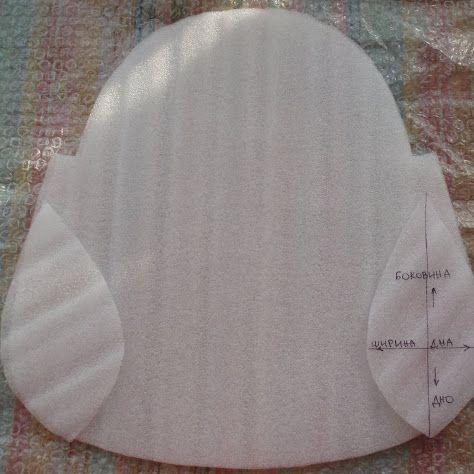 Шаблон для объёма валяной сумки (62фото)