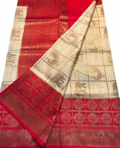Explore the latest collection of luxury designer sarees at Luxurionworld. You can browse extensive collection of Kanjeevaram, Chanderi, etc online.