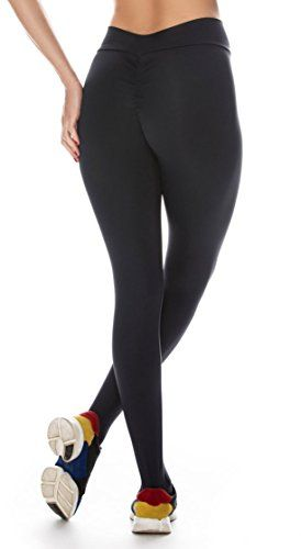 350b44d43a15b Canoan Brazilian Workout Legging - Scrunch Booty Lift! Black | home ...