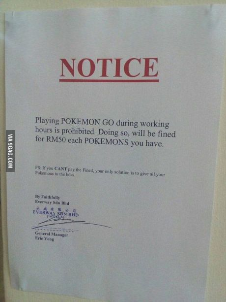 Well played boss...love it!