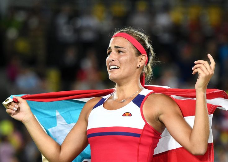 Mónica Puig wrote an open letter after the island's warm welcome.