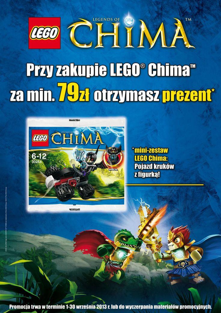 PROMOCJA! Przy zakupie LEGO Chima za min. 79 zł. otrzymasz PREZENT - mini-zestaw POJAZD KRUKA z figurką!