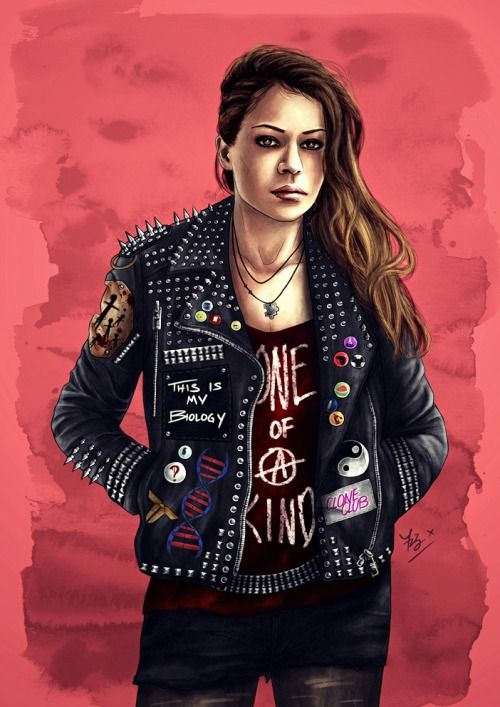 Orphan Black Hardcore punk Sarah. Ok defined badass right here.