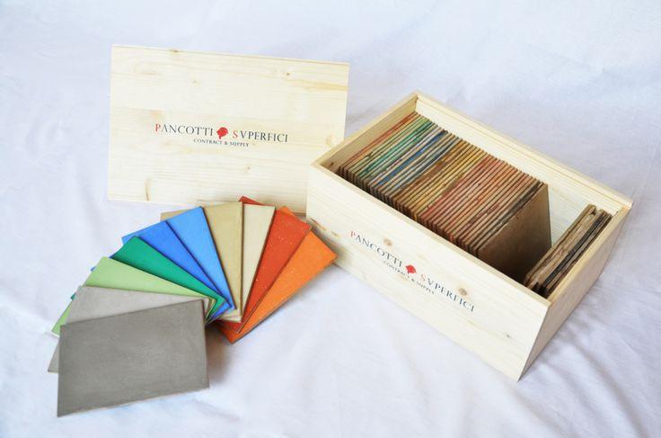 Pancotti Superfici | Collezione Colori 2014| kit #colori