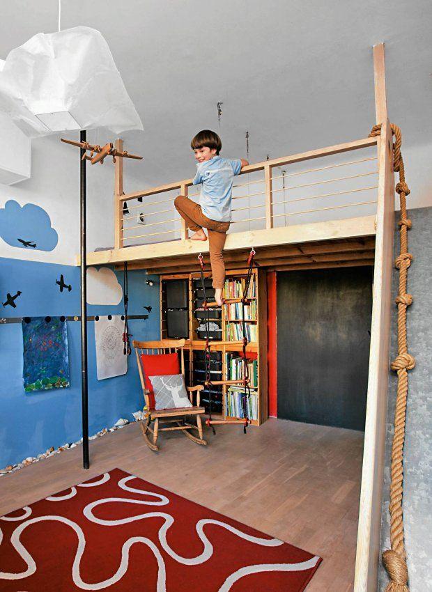 Pokój dziecięcy niczym plac zabaw