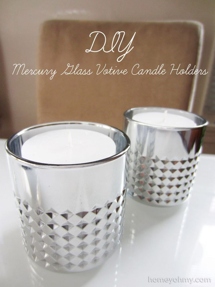 75 best images about diy on pinterest gardens mercury for Homemade votive candles