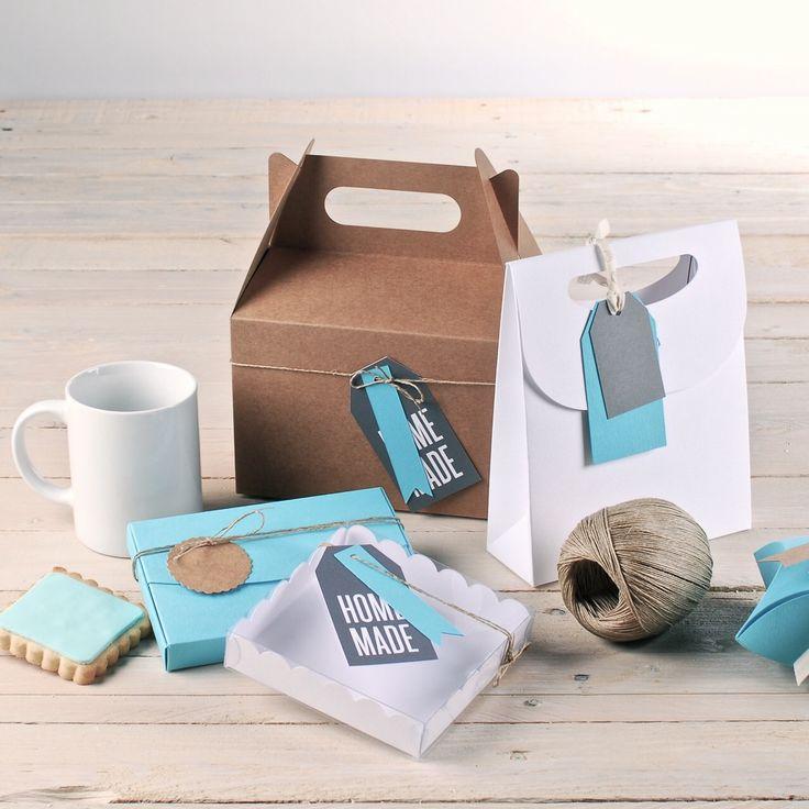 ★ Happiness is homemade! ★ http://selfpackaging.com/ // #homemade #handmade #giftboxes #diy #cardboard