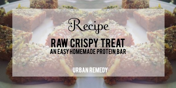 The perfect healthy breakfast! A raw, crispy, homemade protein bar recipe.: Treat Protein, Healthy Eats, Homemade Protein Bars, Protein Bar Recipes, Perfect Healthy, Healthy Breakfasts, Crispy Treat