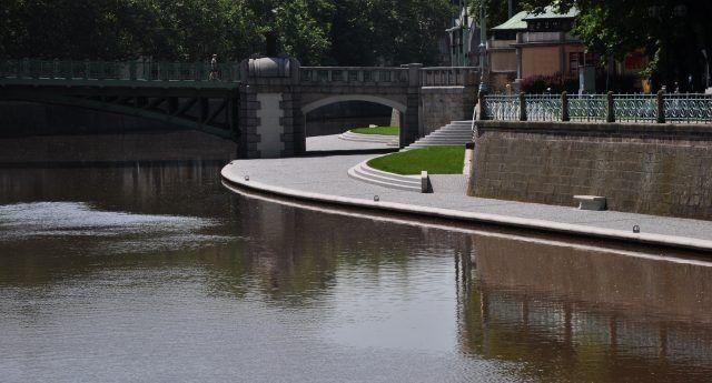 Náplavky pravého břehu Labe - Česká cena za architekturu
